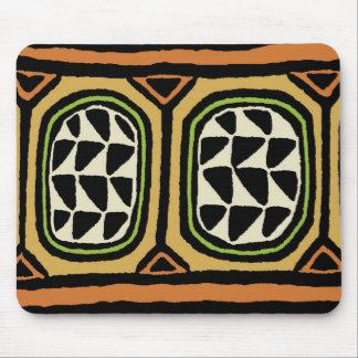 Diseño de la materia textil de Kuba del africano Alfombrilla De Ratón