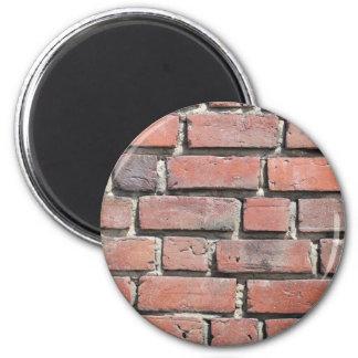 Diseño de la pared de piedra del ladrillo imán para frigorifico