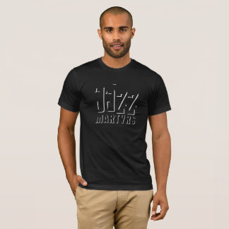 Diseño de la sombra de la camiseta de los mártires