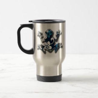 Diseño de la taza del acero inoxidable de la rana