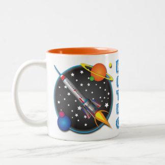 Diseño de la taza del aviador de Saturn