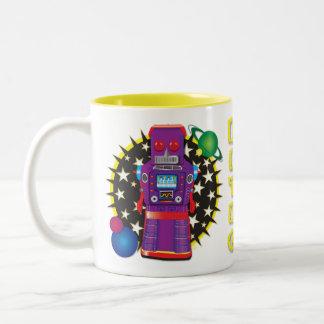 Diseño de la taza del Bot del comando