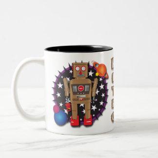 Diseño de la taza del Bot del guardia nocturna