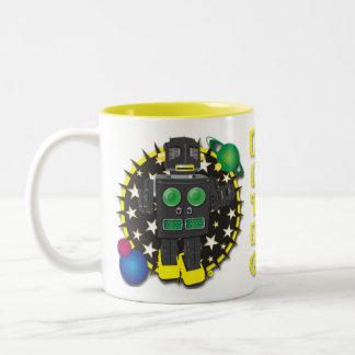 Diseño de la taza del Bot del guerrero