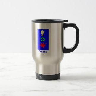"""""""Diseño de la taza del viaje del acero inoxidable"""