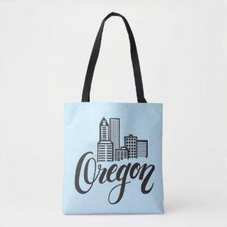 Diseño de la tipografía de Oregon Bolso De Tela