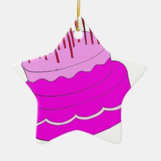 Diseño de la torta de cumpleaños ornamente de reyes