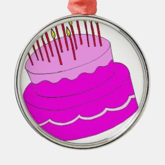 Diseño de la torta de cumpleaños adorno para reyes