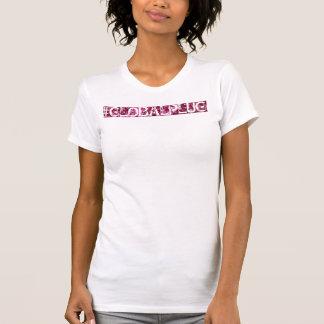Diseño de letras del modelo del globalplug de las camiseta