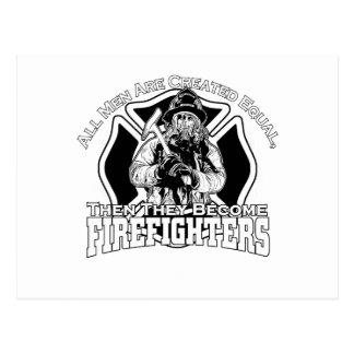 Diseño de los bomberos postal