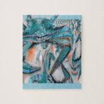 Diseño de los cangrejos azules puzzles