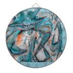 Diseño de los cangrejos azules tabla dardos