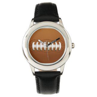 diseño de los deportes del fútbol relojes