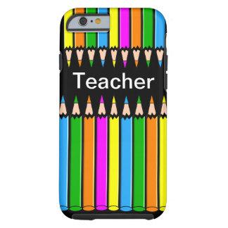 Diseño de los lápices del caso del iPhone 6 del Funda De iPhone 6 Tough