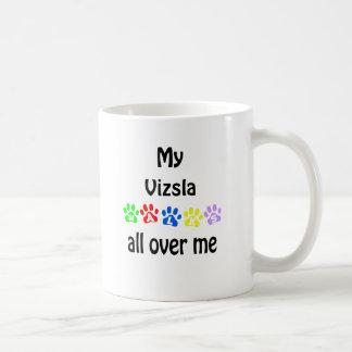 Diseño de los paseos de Vizsla Taza De Café