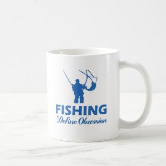 diseño de los pescados taza