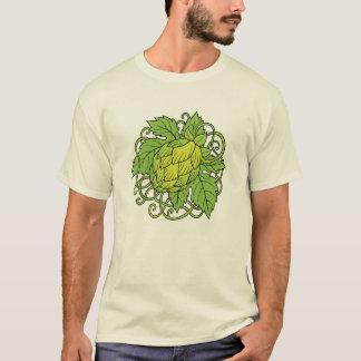 Diseño de los saltos (la camiseta del amante de la