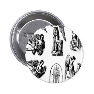 Diseño de los vectores del ángel pin