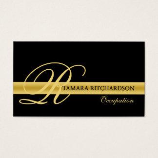 Diseño de lujo elegante profesional de la tarjeta