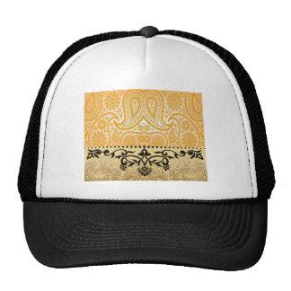 Diseño de lujo gorros bordados