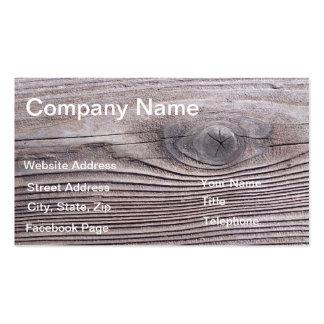 Diseño de madera de la plantilla de la tarjeta del tarjetas de visita