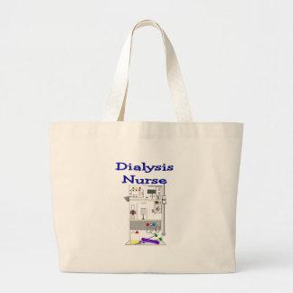 Diseño de máquina Regalo-Único de la enfermera de  Bolsa Tela Grande