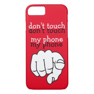 Diseño de mensaje divertido funda iPhone 7