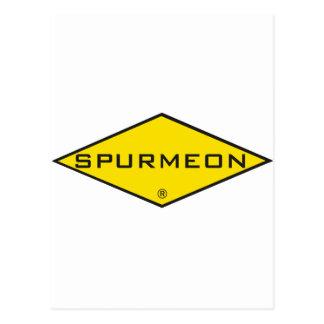 Diseño de motivación único del diamante de Spurmeo Tarjeta Postal