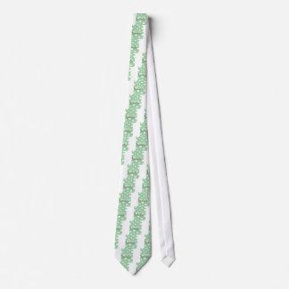 Diseño de papel con las ovejas en fondo corbata personalizada