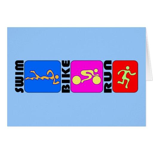 Diseño de parachoques del TRI del Triathlon de la  Felicitacion