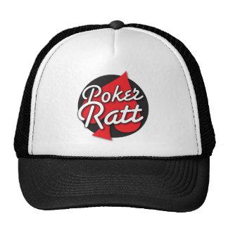 Diseño de tarjeta del Rockabilly de Ratt del póker Gorro De Camionero