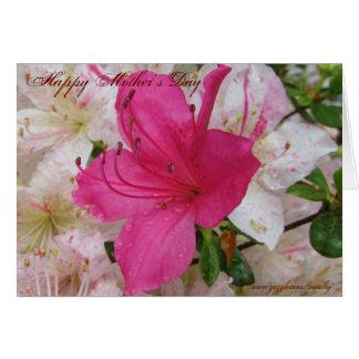 Diseño de tarjeta feliz del día de madre
