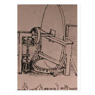 Diseño de una máquina para las lentes de pulido postal
