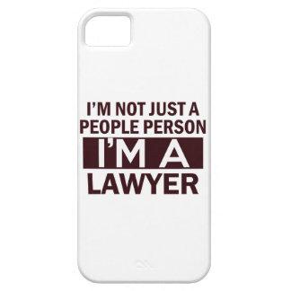 diseño del abogado iPhone 5 carcasa