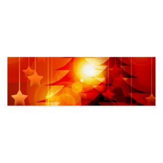 Diseño del árbol de navidad del día de fiesta tarjetas personales