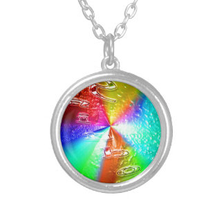 diseño del arco iris colgante redondo
