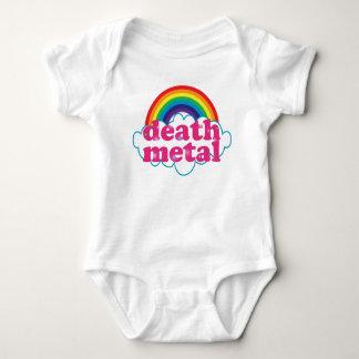 Diseño del arco iris del metal de la muerte body para bebé