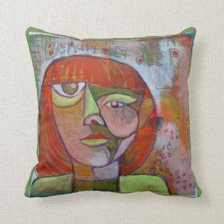 Diseño del arte abstracto de la almohada