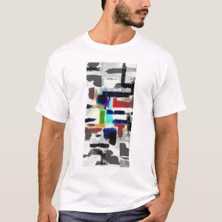 Diseño del arte abstracto de la camiseta del