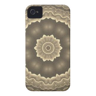Diseño del arte del fractal iPhone 4 Case-Mate cárcasas