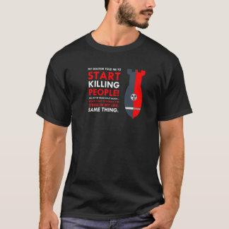 Diseño del asesino camiseta