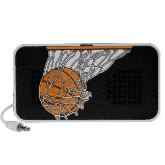 diseño del baloncesto de la clavada del woosh mini altavoz