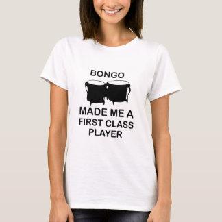 diseño del bongo camiseta