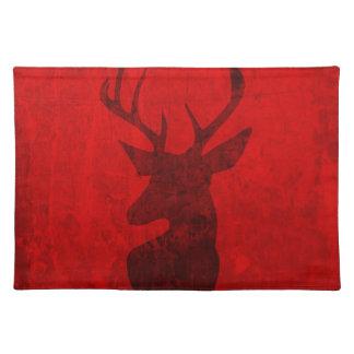 Diseño del ciervo común salvamanteles