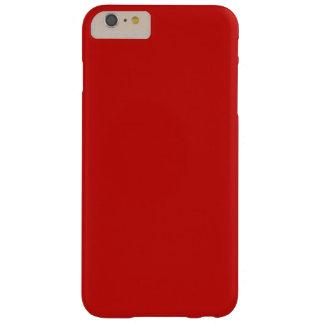 Diseño del color rojo funda barely there iPhone 6 plus