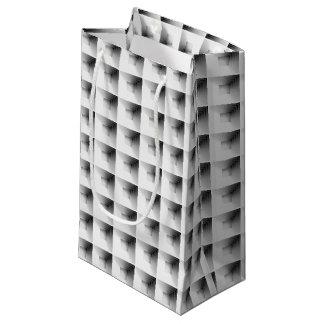 diseño del compartimiento en gris… bolsa de regalo pequeña