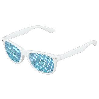 Diseño del copo de nieve gafas de fiesta retro