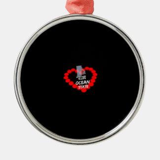 Diseño del corazón de la vela para el estado de adorno de cerámica