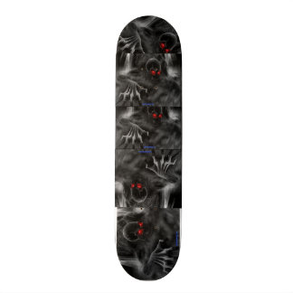 """Diseño del cráneo del ¾ de Skateborad 7"""" - Patin Personalizado"""