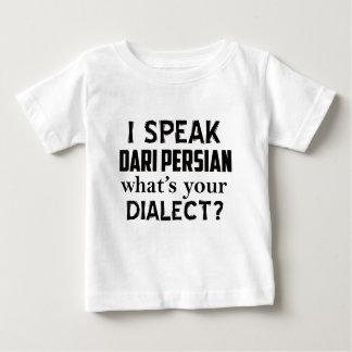 Diseño del dialecto de Afganistán del persa del Camiseta De Bebé